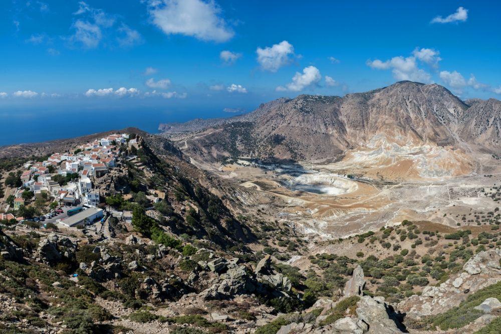 Nisiros-krater-wulkanu