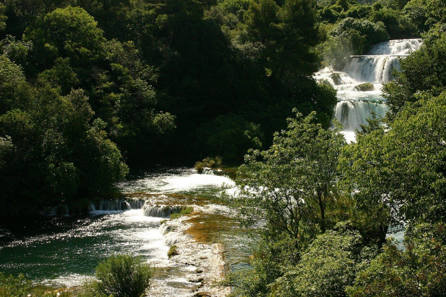 16-północna-Dalmacja-wodospady-Krka